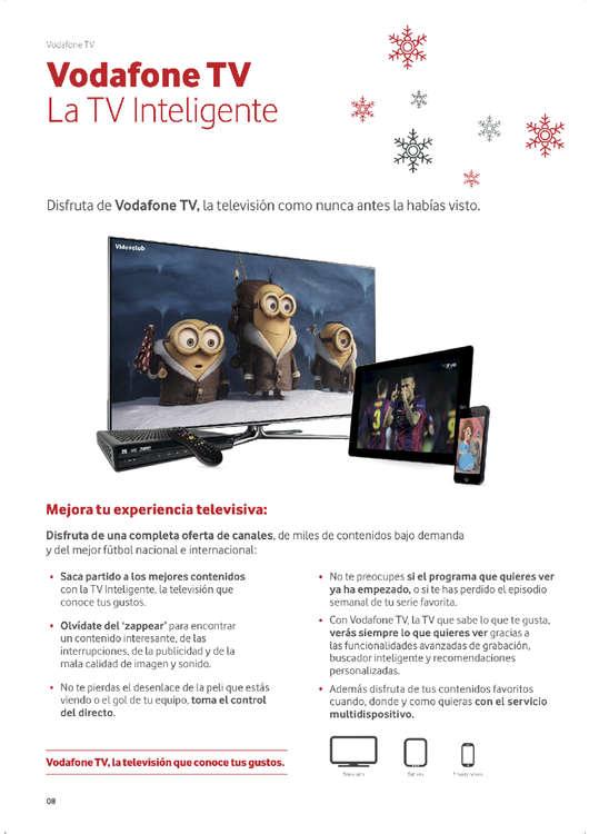Ofertas de Vodafone, Navidad