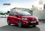 Ofertas de Toyota, Verso