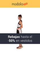 Ofertas de MODALIA.COM, ¡Rebajas hasta el -50% en vestidos!