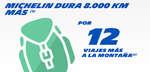 Ofertas de Michelin, Michelin dura 8000 km más