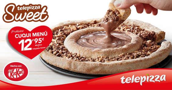 Ofertas de Telepizza, Telepizza Sweet