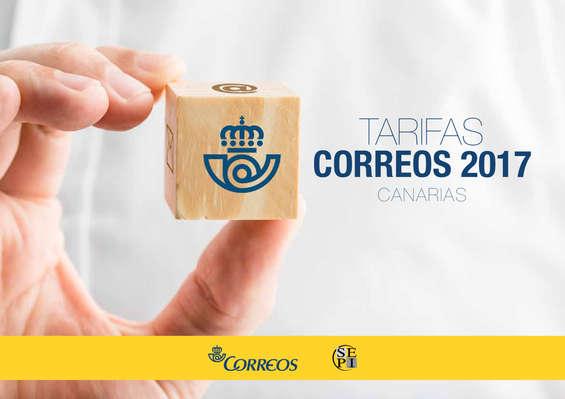 Ofertas de Correos, Tarifas 2017