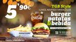 Ofertas de The Good Burger, TGB Style