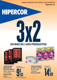 3x2 en más de 1.000 productos