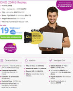 Ofertas de ONO, Nuevas tarifas 2015