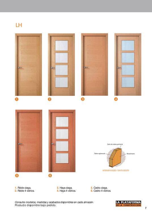 Comprar puerta roble en madrid puerta roble barato en madrid for Ofertas puertas interior