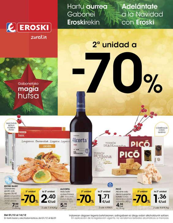 Ofertas de Eroski, Adelántate a la Navidad con Eroski