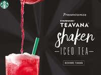 Teavana shaked iced tea