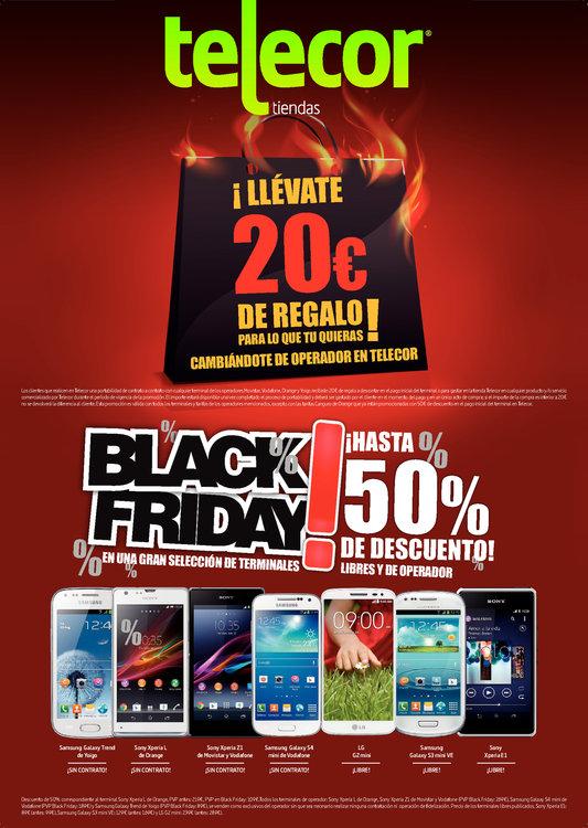 Ofertas de Telecor, Black Friday ¡Hasta 50% de descuento!