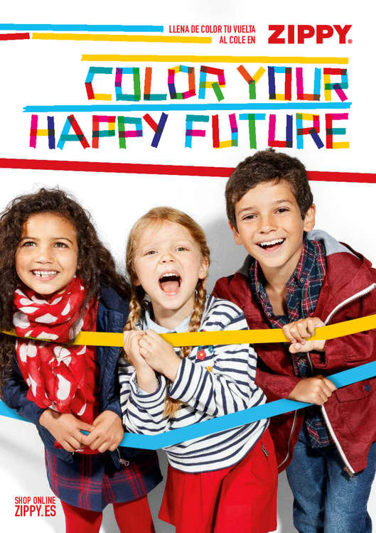 Ofertas de ZIPPY, Color your happy future