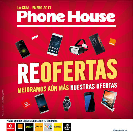 Ofertas de Phone House, Reofertas