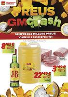 Ofertas de Gros Mercat, Preus GmCrash