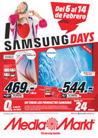 Ofertas de Media Markt, Samsung Days - Pontevedra