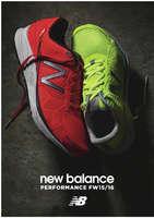 Ofertas de New Balance, Perfomance FW 15-16