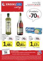 Ofertas de Eroski, 2a unidad a -70%
