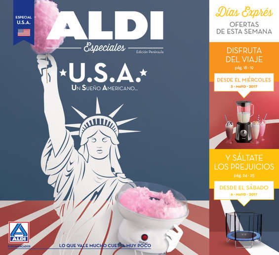 Ofertas de ALDI, Un Sueño Americano