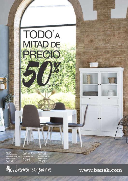 Ofertas de Banak Importa, Todo a mitad de precio. -50% - Valladolid