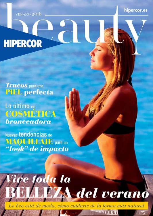 Ofertas de Hipercor, Beauty Verano 2016