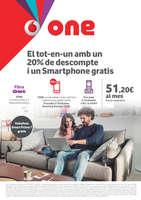 Ofertas de Vodafone, El tot-en-un amb 20% de descompte i un Smartphone gratis