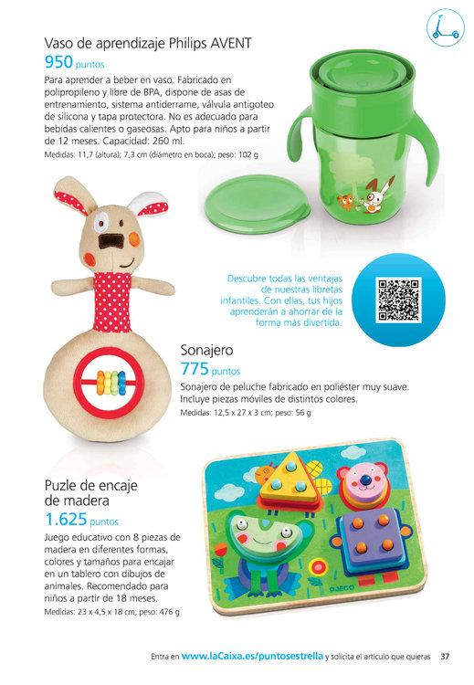 Ofertas de La Caixa, Puntos La Caixa 2014