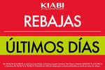 Ofertas de Kiabi, Últimos días