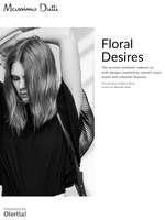 Ofertas de Massimo Dutti, Floral Desires