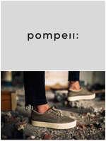 Ofertas de Pompeii, ¡Rebajas de calzado!