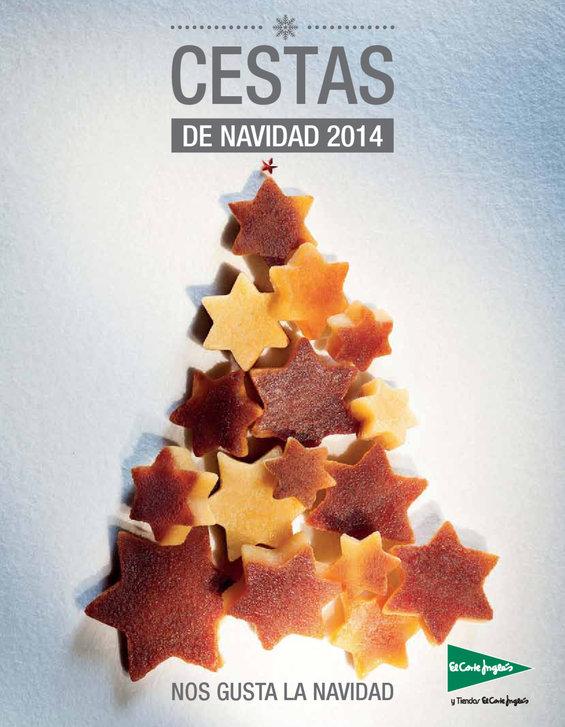 Ofertas de El Corte Inglés, Cestas de Navidad 2014