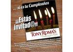 Ofertas de Tony Romas, Oferta Cumpleaños