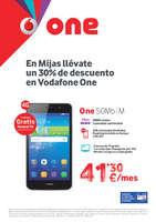 Ofertas de Vodafone, En Mijas llévate un 30% de descuento en Vodafone One