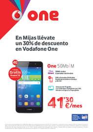 En Mijas llévate un 30% de descuento en Vodafone One