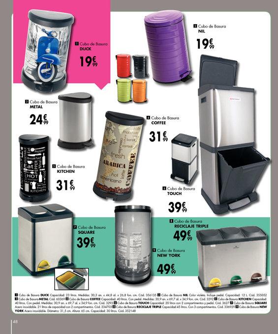 Comprar cubo de basura reciclaje en barcelona cubo de for Cubos de reciclaje ikea