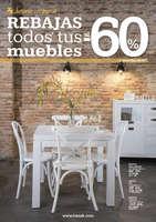 Ofertas de Banak Importa, Rebajas todos tus muebles al -60% - Zaragoza