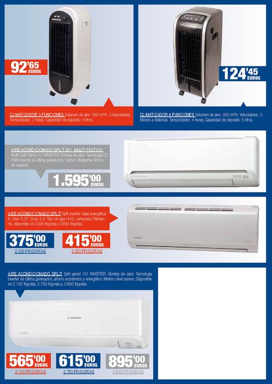 Ofertas de BigMat, Ventilación