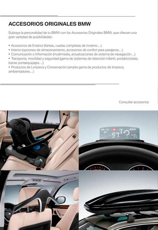 Ofertas de BMW, Productos y servicios posventa