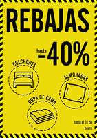 Ofertas de Milcolchones.com, REBAJAS hasta -40%