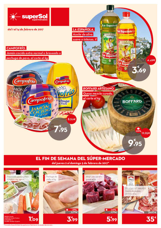 Supersol m laga ofertas cat logo y folletos ofertia - Catalogo bricomart malaga ...