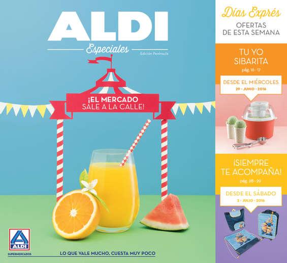 Ofertas de ALDI, ¡El mercado sale a la calle!