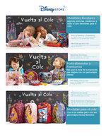 Ofertas de Disney Store, Hasta -25% en Vuelta al Cole