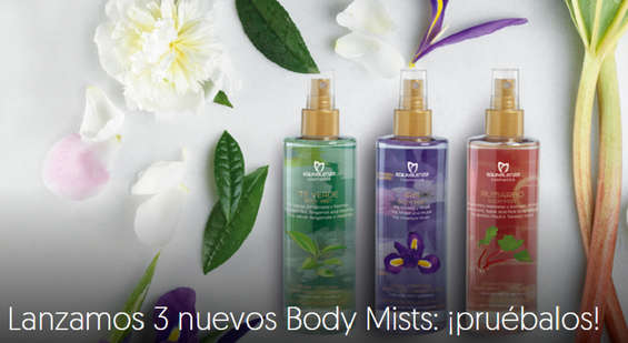 Ofertas de Equivalenza, Nuevos Body Mists