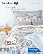 Ofertas de Carrefour, Raons per quedar-te a casa