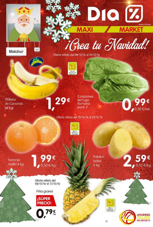 Ofertas de Dia Market, ¡Crea tu Navidad!