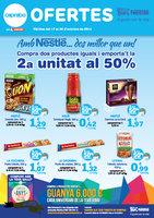 Ofertas de Caprabo, Amb Nestlé.. Dos millors que un!