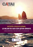 Ofertas de Catai, Asia con Qatar Airways