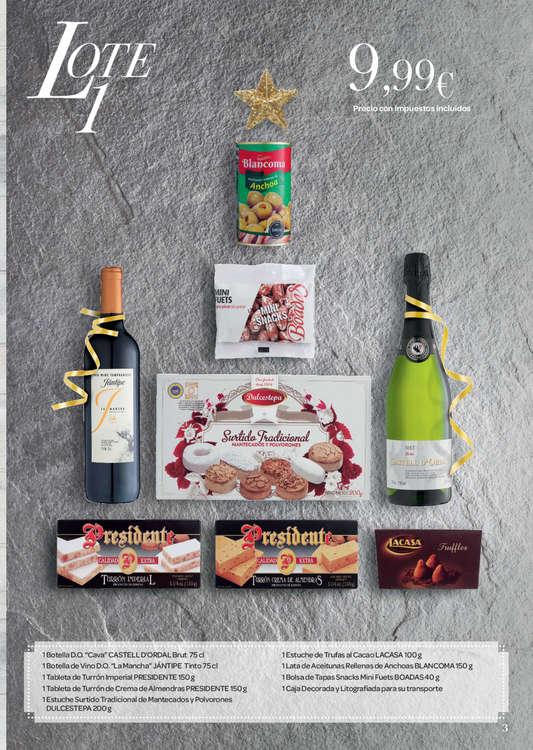 Ofertas de Carrefour, Cestas Navidad 16