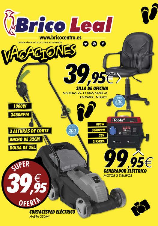 Ofertas de Bricocentro, Vacaciones - Burgos