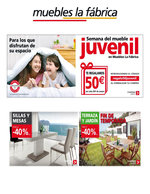 Ofertas de Muebles La Fábrica, Semana del mueble juvenil
