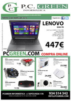 Ofertas de PC Green, Marzo 2015
