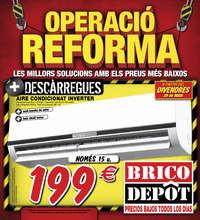 Operació Reforma - Parets