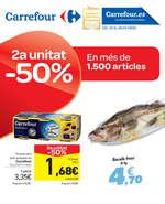 Ofertas de Carrefour, 2a unitat al -50% En més de 1500 artícles